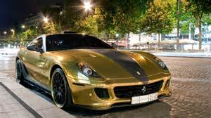 599 Gtb Gold Gold 599 Gtb Hamann Wallpapers And Images