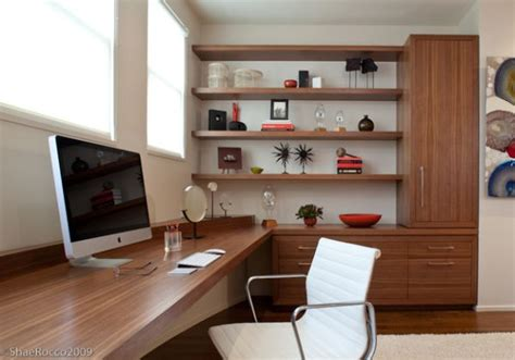 Shelves For Office Ideas Modern Home Office With Corner Shelves That Make A Beautiful Display