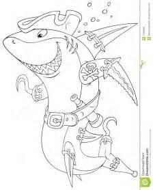 shark pirate stock photo image 37633860