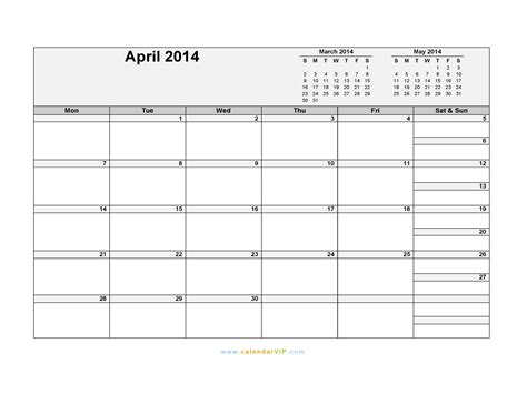 simple calendar template 2014 calendar april 2014 printable wallpapers volvoab