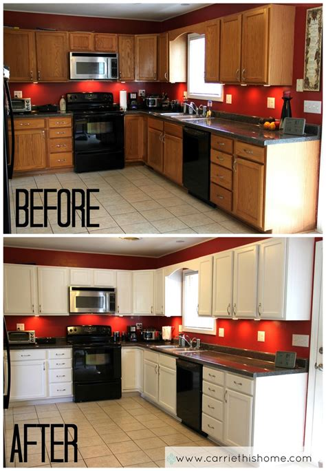 how to paint your kitchen cabinets like a professional don t have enough money to replace your kitchen cabinets