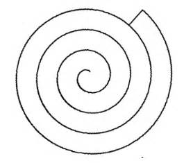 spiral tree template spiral shape clipart best