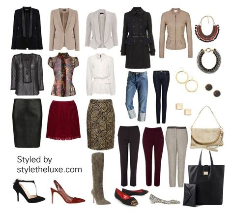 Database Your Wardrobe With Dress Assistant by Wardrobe Capsule Professional Styletheluxe Capsule