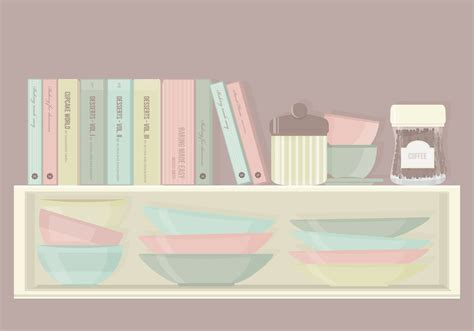 kitchen cabinets set kitchen cabinet elements vector set download free vector