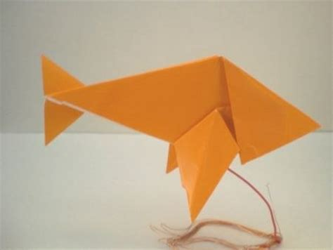 crafts origami and paint on