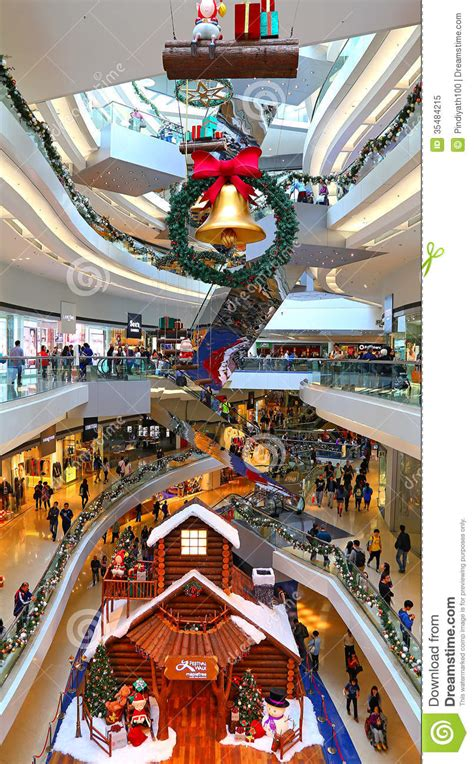shopping ideas shopping mall christmas decoration editorial image image