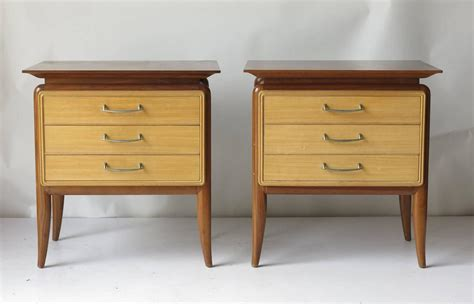 mid century bedroom furniture mid century bedroom set five pieces for sale at 1stdibs
