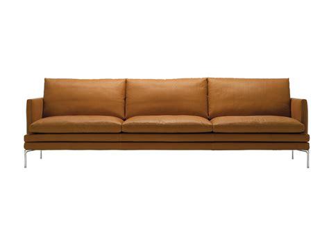 williams sofa buy the zanotta 1330 william three seater sofa at nest co uk
