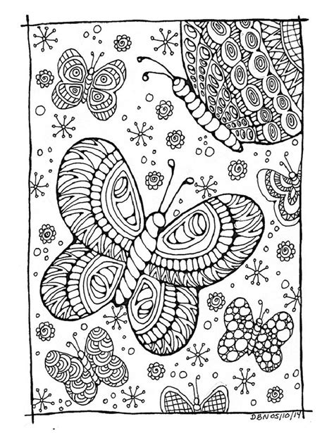 butterfly garden colouring book for adults books 277 best images about color pages on dovers
