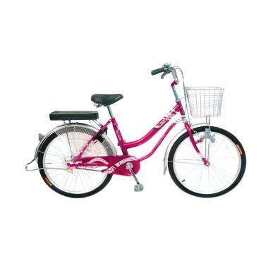Sepeda Keranjang Wanita Wimcycle jual wim cycle nexia city sepeda wanita pink 26 inch