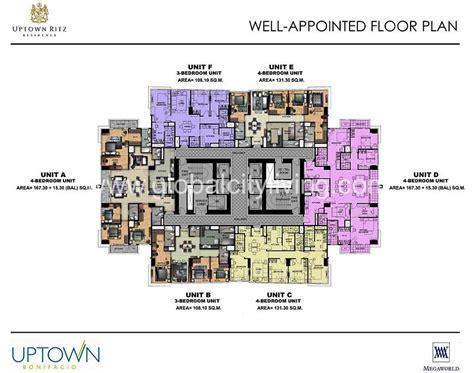 floor plans for luxury condos