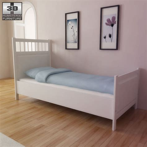 ikea model bedrooms 3d models ikea hemnes bed 3d model 3docean bedroom furniture reviews