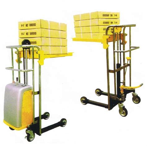 Stacker Manual Kap 1 5ton Lifting 2 5mtr New high lift winch operated lifters pallet jacks trucks brisbane gold coast