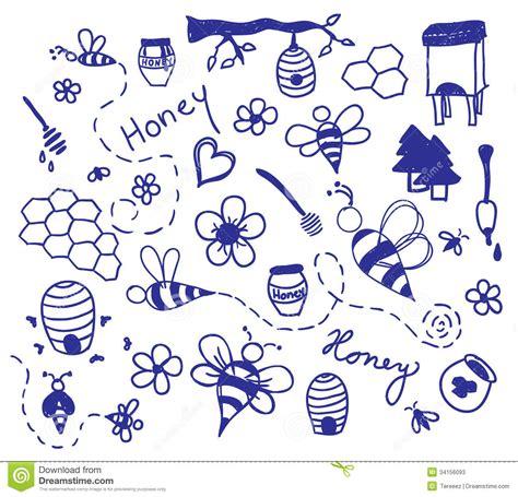 doodle sketch vectors free vector honey drawing stock photos image 34156093