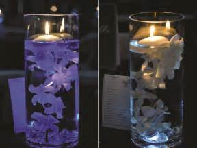 light centerpiece gorgeous photos on wedding centerpieces with submersible