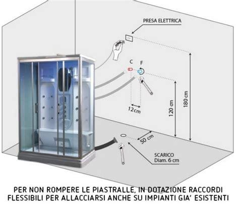 cabina doccia senza idromassaggio cabina doccia idromassaggio disponibile con o senza sauna