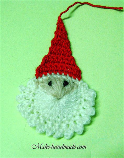 crochet christmas crafts crafts ideas easy santa crochet tutorial make handmade crochet craft