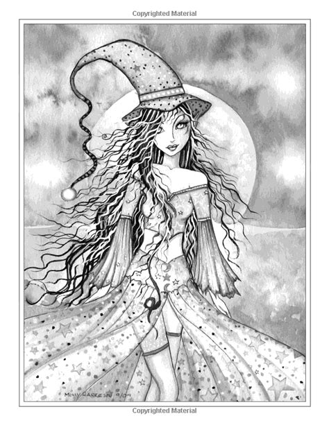 grayscale coloring autumn magic grayscale coloring book autumn fairies