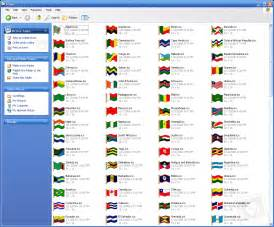 flags of the world pictures with names image gallery national flags with names