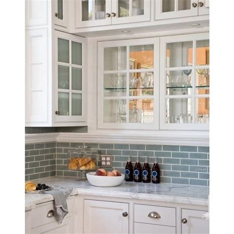 white glass subway tile backsplash home design jobs 32 best images about backsplash on pinterest shaker