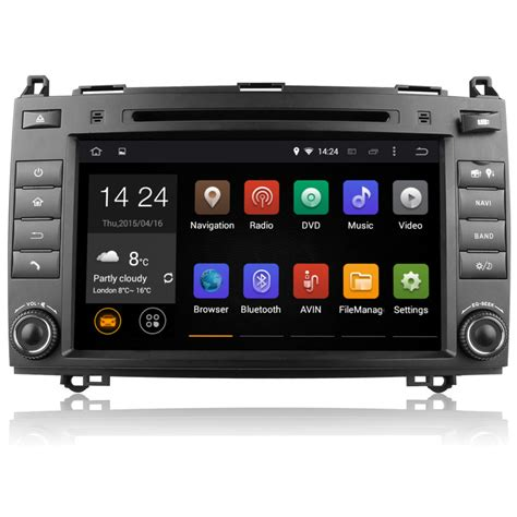 Android Unit by Mercedes Vito Viano W639 Android 5 1 Unit Bt Wifi Sat