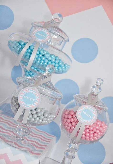 Gender Reveal Decorations by Kara S Ideas Gender Reveal Planning Ideas Cake Supplies Decorations Shower
