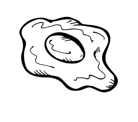 fried egg coloring page bacon free coloring pages