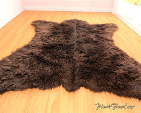 faux animal rug rugs faux white fur rug faux animal rug faux skin rug
