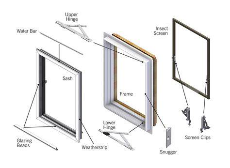 Andersen Awning Window Parts by Andersen Perma Shield Casement Window Replacement Parts