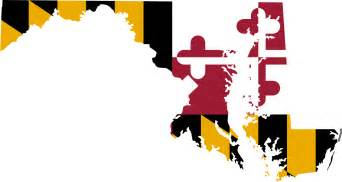 maryland colors maryland flag map mapsof net