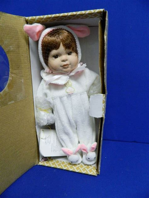 porcelain doll 2015 easter porcelain doll in bunny suit crowne ufdc 269