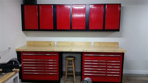 harbor freight tool box wood workbench