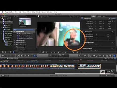 final cut pro stabilization final cut pro x 106 titles effects and compositing 10