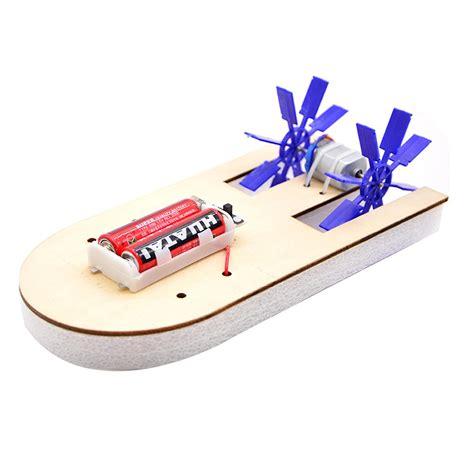 toy boat kit electric wood boat toy kit propeller motor shaft diy model