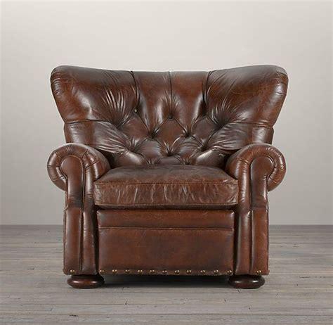 reading recliner rh churchill reading recliner in glove chairs pinterest