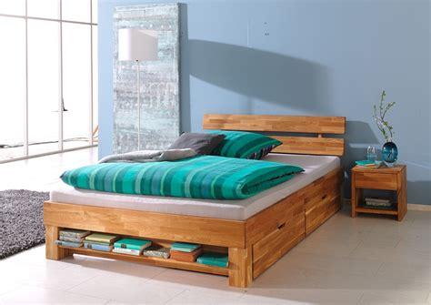 Houten Bed Met Lades by Massief Eenpersoons Houten Bed Marrit Slaapkamerweb