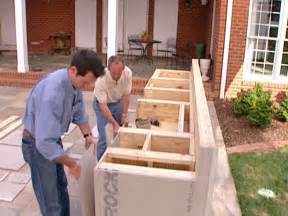 How To Build A Outdoor Kitchen Island Outdoor Kitchen Diy Projects Ideas Diy