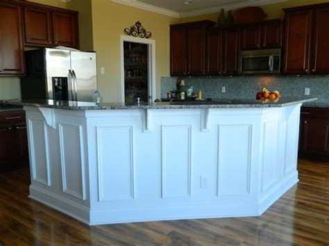 kitchen island molding pickle posey molding make update kitchen island