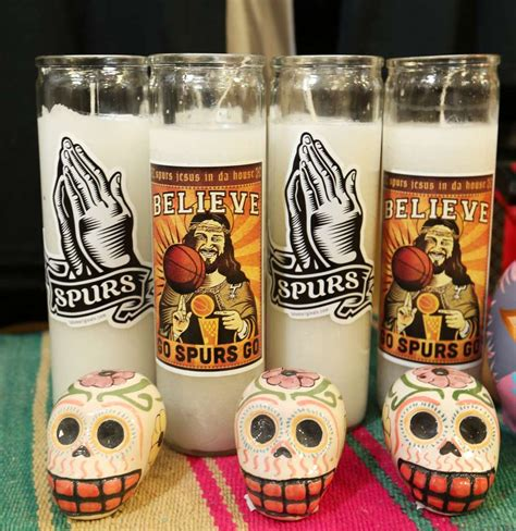 Ear Wax Candle San Antonio by Spurs Fan With A Few Bucks On The Side San Antonio Express News