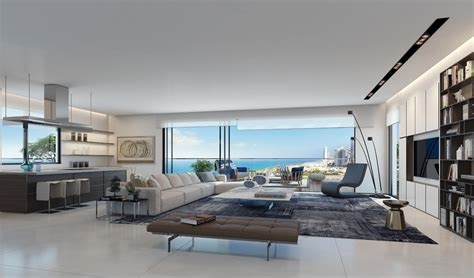 Modern Penthouses | smoking hot penthouse interior designs visualized
