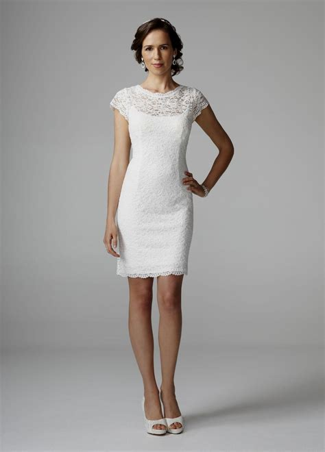 White Sort Wedding Dresses by White Lace Wedding Dresses Naf Dresses