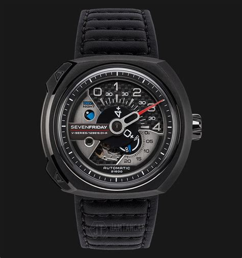 Jam Tangan Sevenfriday V3 Black sevenfriday v3 01 v series automatic miyota 8s27 black
