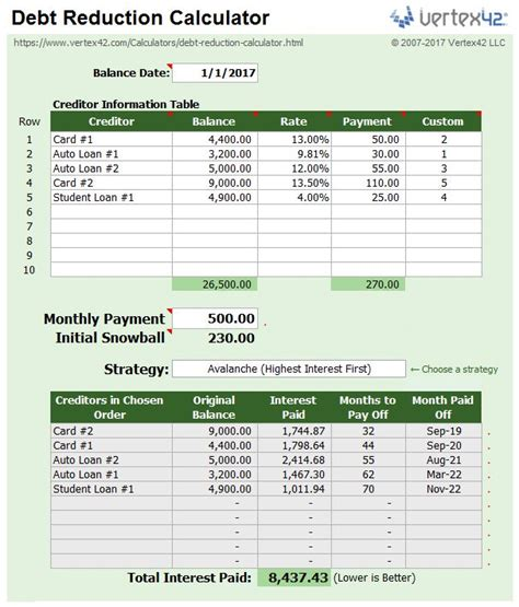 Debt Consolidation Spreadsheet by Best 25 Debt Snowball Spreadsheet Ideas On