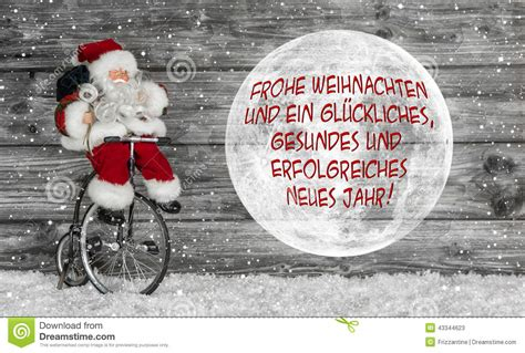 merry christmas card  red  white  german text   san stock image image  german