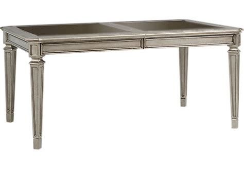 terra silver dining table dining tables colors