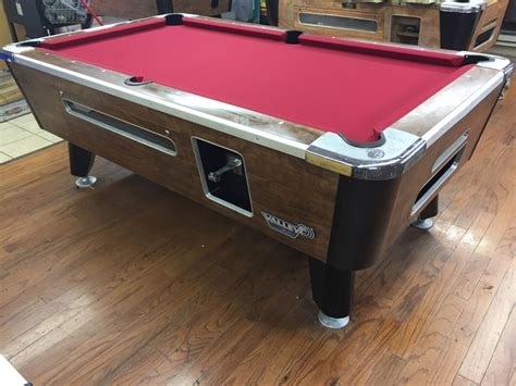 used valley pool table table 040317 valley used coin operated pool table used