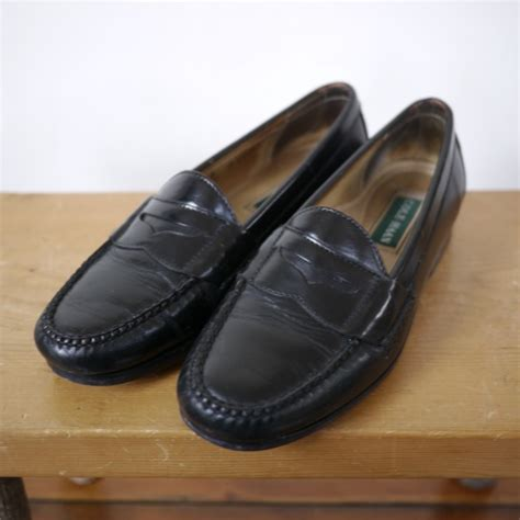 cole haan mens loafers ebay cole haan classic preppy black leather moccasin toe