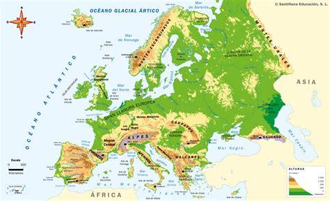 d europa geograf 237 a f 237 sica de europa mi clase en la nube