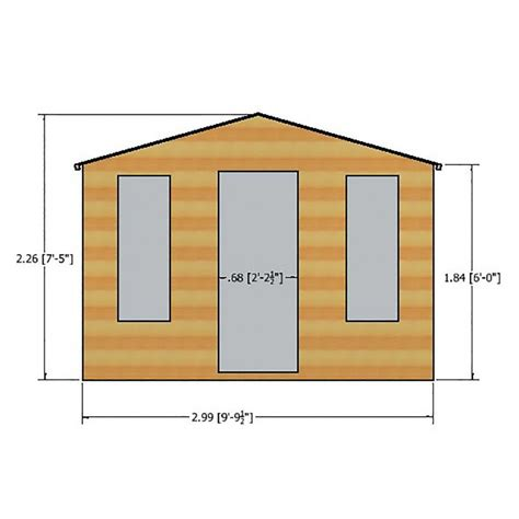 elton summer house 10 x 6 colchester sheds and fencing