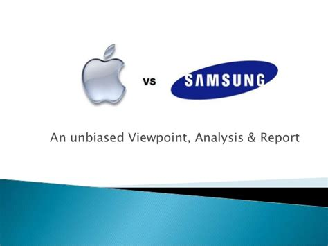 Apple Vs Samsung Samsung Presentation Template